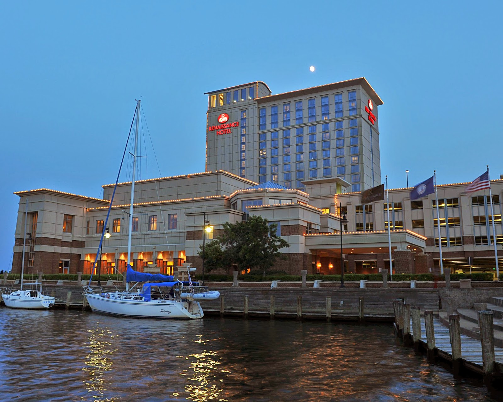 """Portsmouth Mayor Sees """"Explosion of Life"""" from New Owners of Renaissance Hotel"""