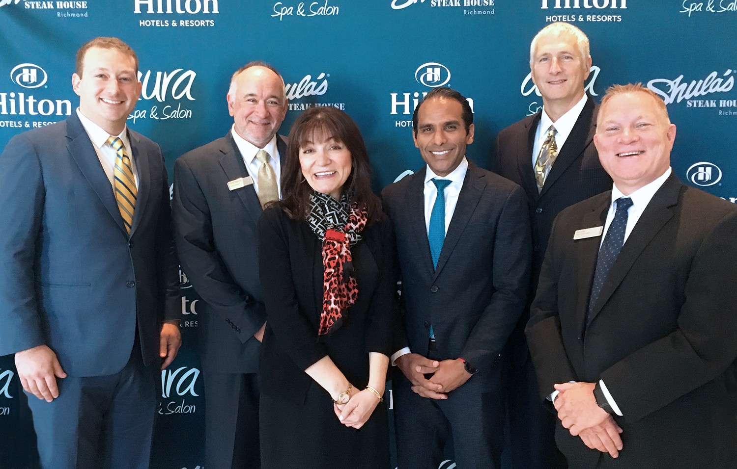 Hilton Richmond Hotel & Spa / Short Pump Recognized for Continued Excellence