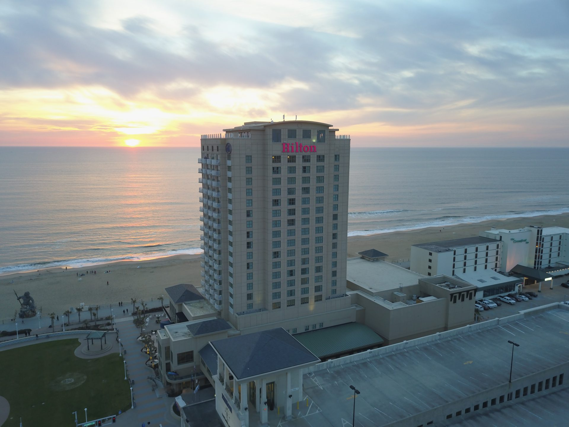 Chester-based Shamin buys two Virginia Beach Oceanfront Hotels; deal also includes Neptune's Park
