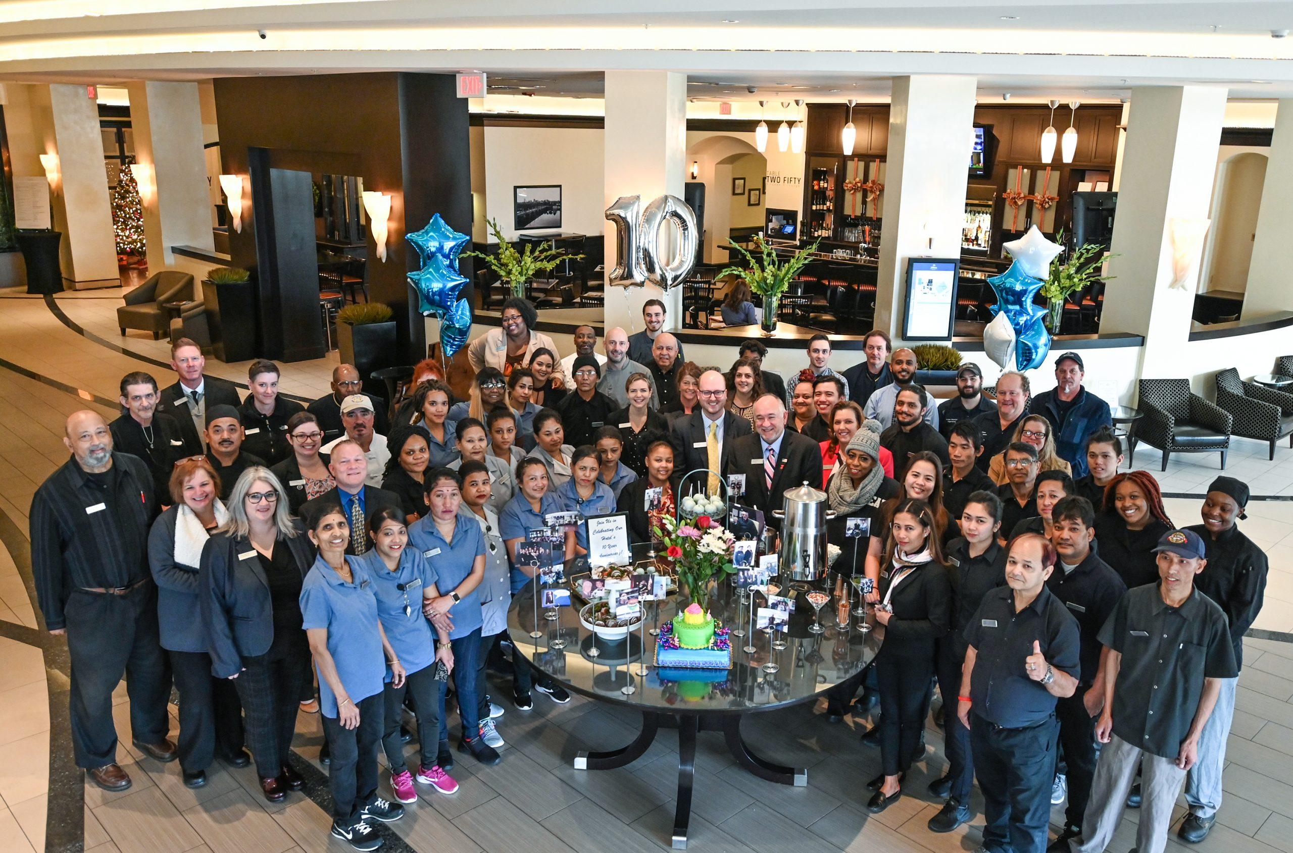 Hilton Richmond Hotel & Spa Short Pump Turns 10!