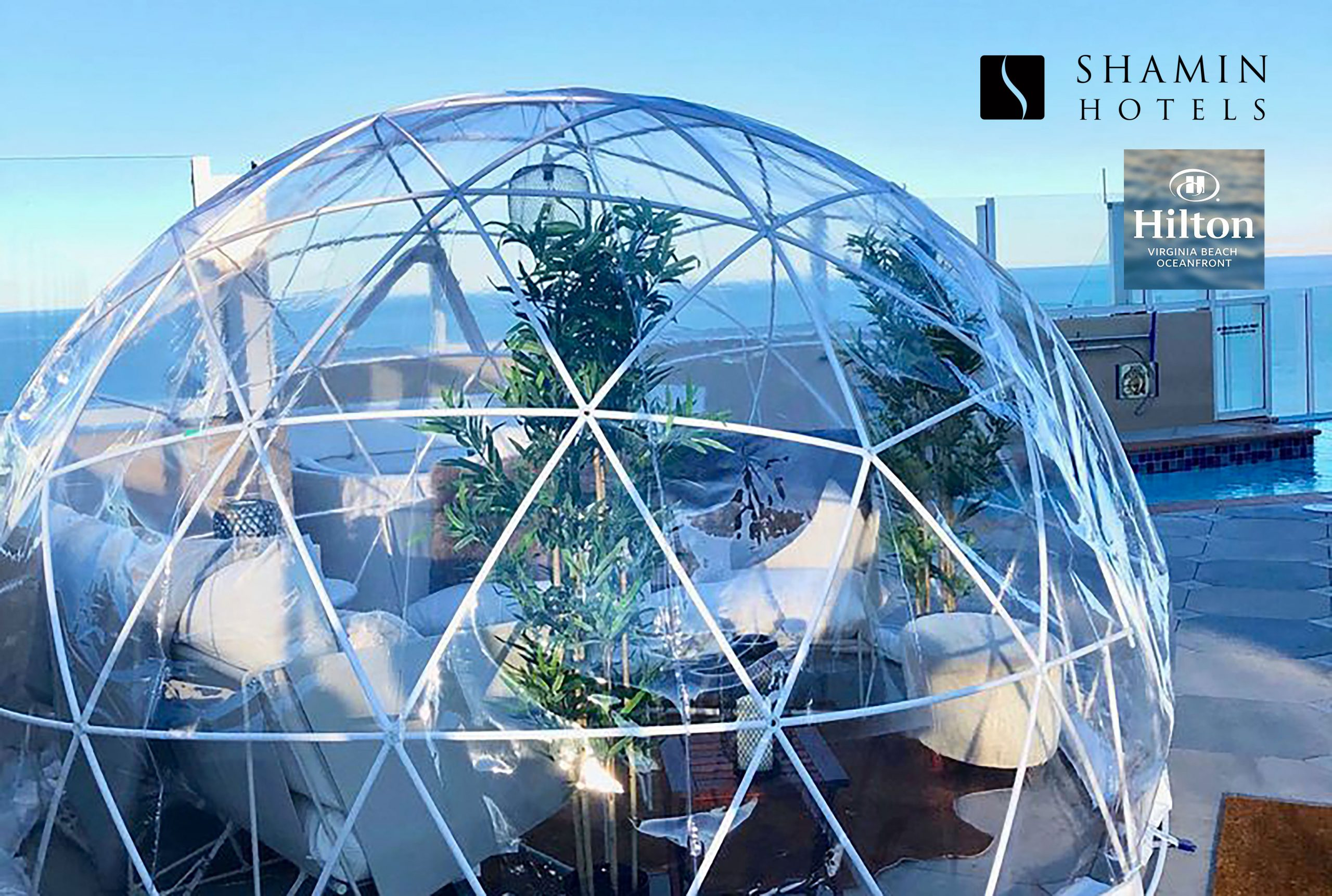 The Daily Press Loves The Igloos Atop Our Hilton Virginia Beach Oceanfront